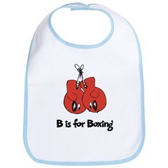 B is for Boxing Bib