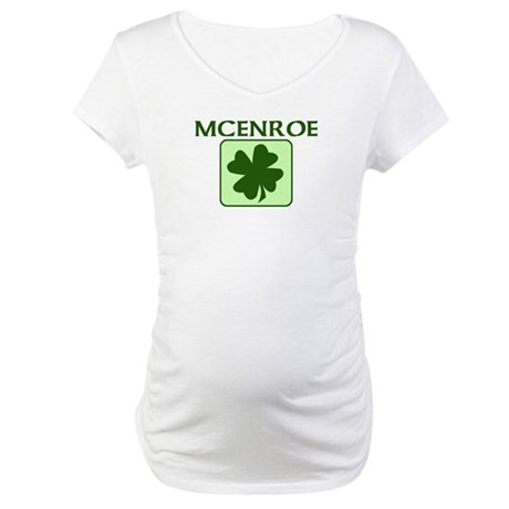 MCENROE Family (Irish) Maternity T-Shirt