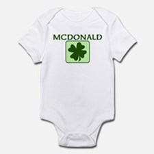 MCDONALD Family (Irish) Infant Bodysuit