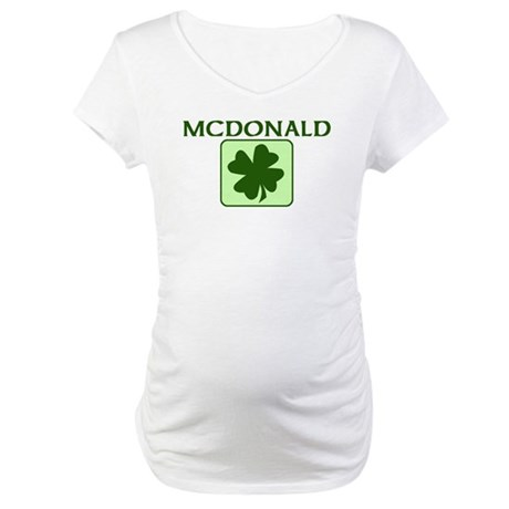 MCDONALD Family (Irish) Maternity T-Shirt
