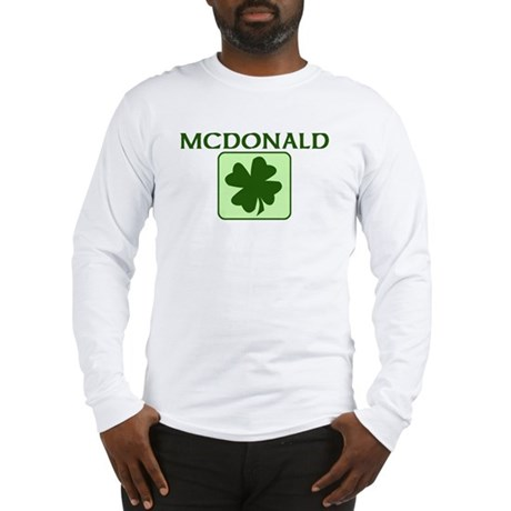 MCDONALD Family (Irish) Long Sleeve T-Shirt