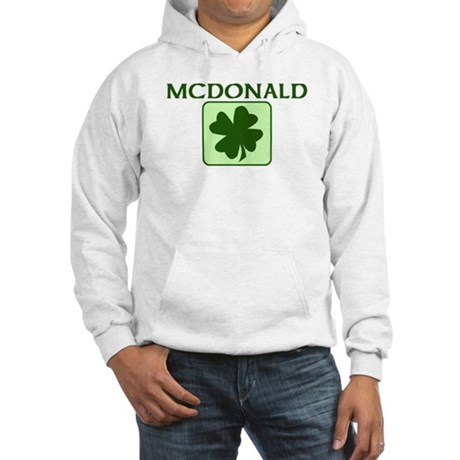 MCDONALD Family (Irish) Hooded Sweatshirt