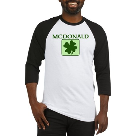 MCDONALD Family (Irish) Baseball Jersey