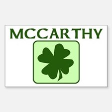 MCCARTHY Family (Irish) Rectangle Decal