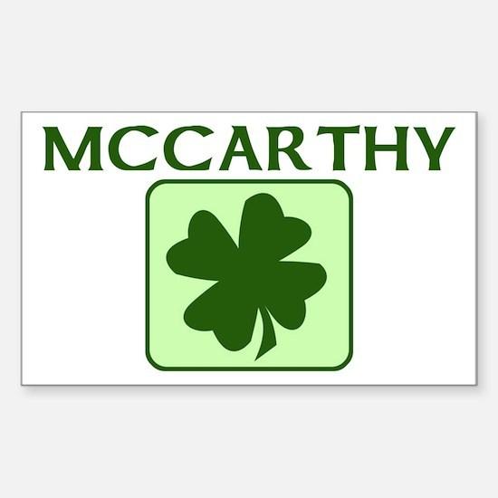 MCCARTHY Family (Irish) Rectangle Decal