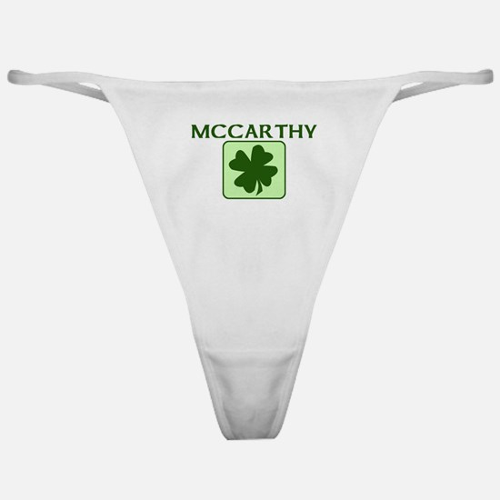 MCCARTHY Family (Irish) Classic Thong