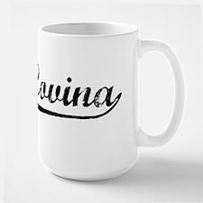 Vintage West Covina (Black) Mug