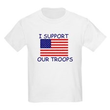 I SUPPORT  Kids T-Shirt