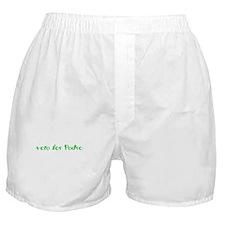 Vote for Pedro Boxer Shorts