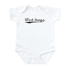 Vintage West Fargo (Black) Infant Bodysuit