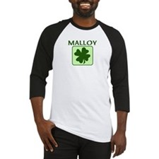 MALLOY Family (Irish) Baseball Jersey