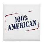 All American Tile Coaster