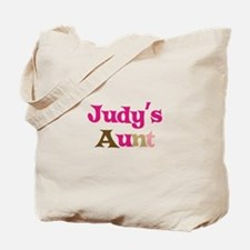 Judy's Aunt Tote Bag