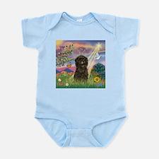 Cloud Angel & Affenpinscher Infant Creeper