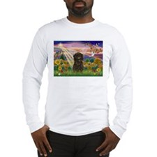 Autumn Angel & Affenpinscher Long Sleeve T-Shirt