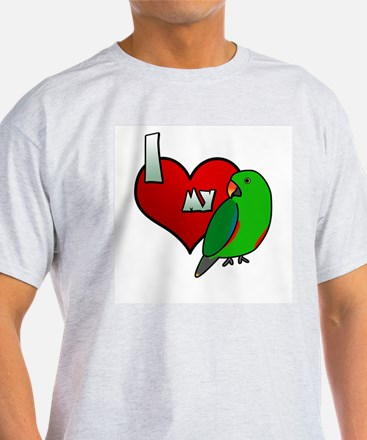 Love Red-Sided Eclectus T-Shirt