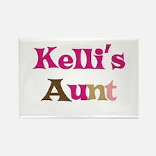 Kelli's Aunt Rectangle Magnet