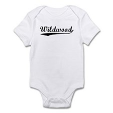 Vintage Wildwood (Black) Infant Bodysuit
