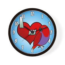I Love My Female Grand Eclectus Clock
