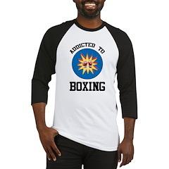 Addicted To Boxing Baseball Jersey