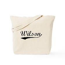 Vintage Wilson (Black) Tote Bag