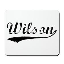 Vintage Wilson (Black) Mousepad