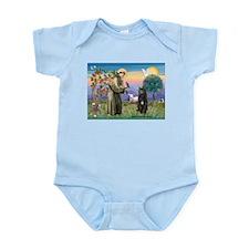 St Francis & Bouvier Infant Bodysuit