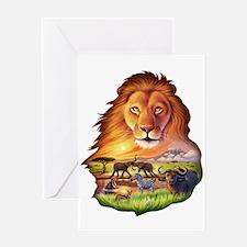 Lion King Greeting Card