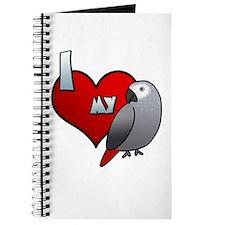Love Congo African Grey Journal