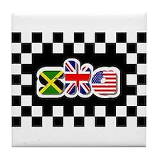 Flags of Ska Tile Coaster