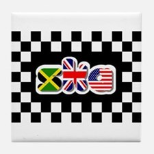 Flags of Ska Tile Coaster