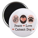 Peace Love Canaan Dog 2.25