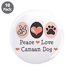 Peace Love Canaan Dog 3.5