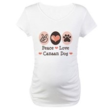 Peace Love Canaan Dog Shirt