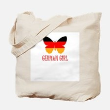 Germany Girl Tote Bag