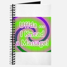 Uffda I Knead a Massage Journal