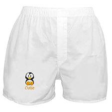 Cute Baby penguin Boxer Shorts