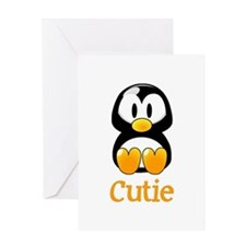 Cute Baby penguin Greeting Card