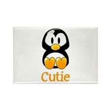 Cute Baby penguin Rectangle Magnet