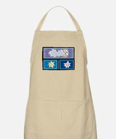 MOON & A COUPLE STARS BBQ Apron