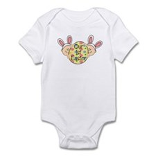 Twins First Easter Infant Bodysuit