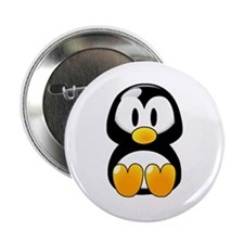 """Baby Penguin 2.25"""" Button (100 pack)"""