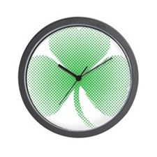 Unique St patricks day lucky charm Wall Clock