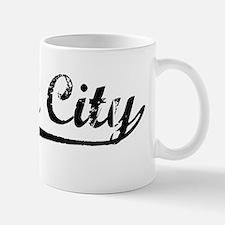 Vintage Yuba City (Black) Mug
