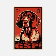 German Shorthaired Pointer! Propaganda Magnet