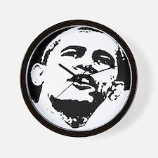 Barack Obama Wall Clock