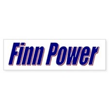 Finn Power Bumper Bumper Sticker
