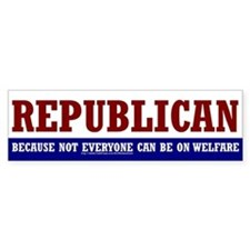 REPUBLICAN - Bumper Bumper Sticker