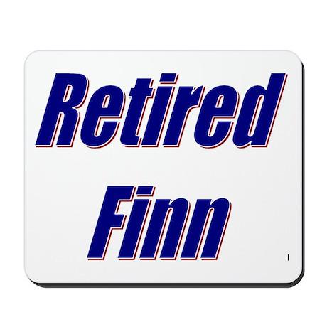 Retired Finn Mousepad