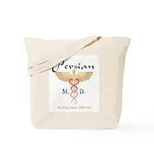 Red Persian M.D. Tote Bag